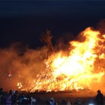 St. Peter-Ording Osterfeuer