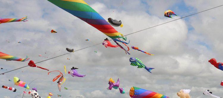 Drachenfestival am Strand von St. Peter-Ording