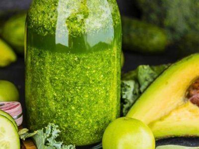 Grüner Smoothy