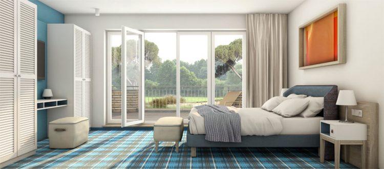 Residenz Typ 1 mit zwei Schlafzimmern