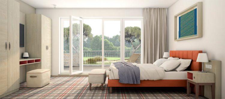 Residenz Typ 1 mit drei Schlafzimmern