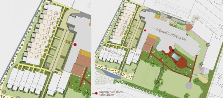 Lageplan Residenz Superior mit zwei Schlafzimmern