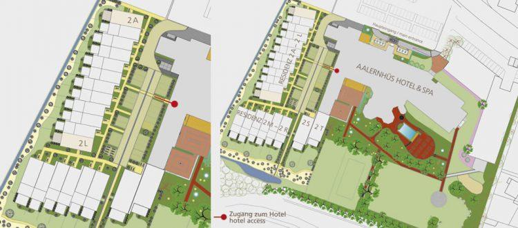 Lageplan Residenz Superior mit drei Schlafzimmern