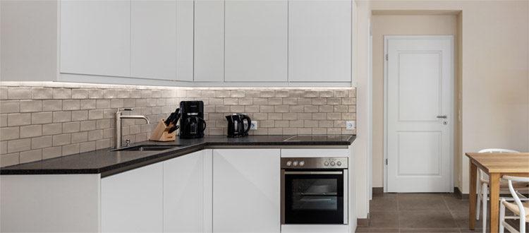Residenzen Deluxe 3 Kochnische