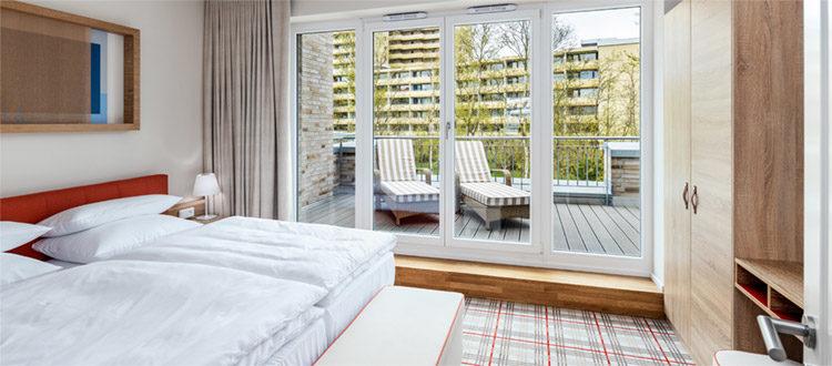 Residenzen Superior 120 Schlafen Doppelzimmer